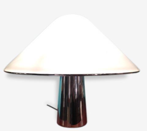 Lampe Guzzini 1970 Metal Blanc Design 121308