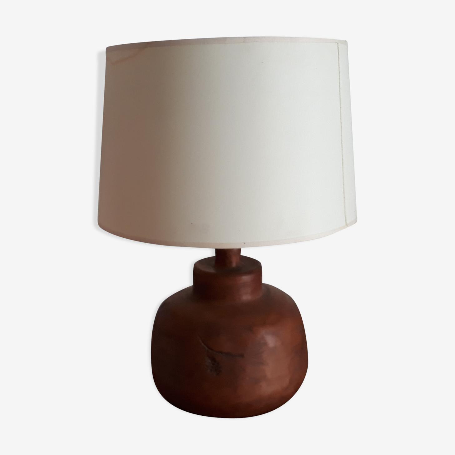 Lampe en céramique années 60