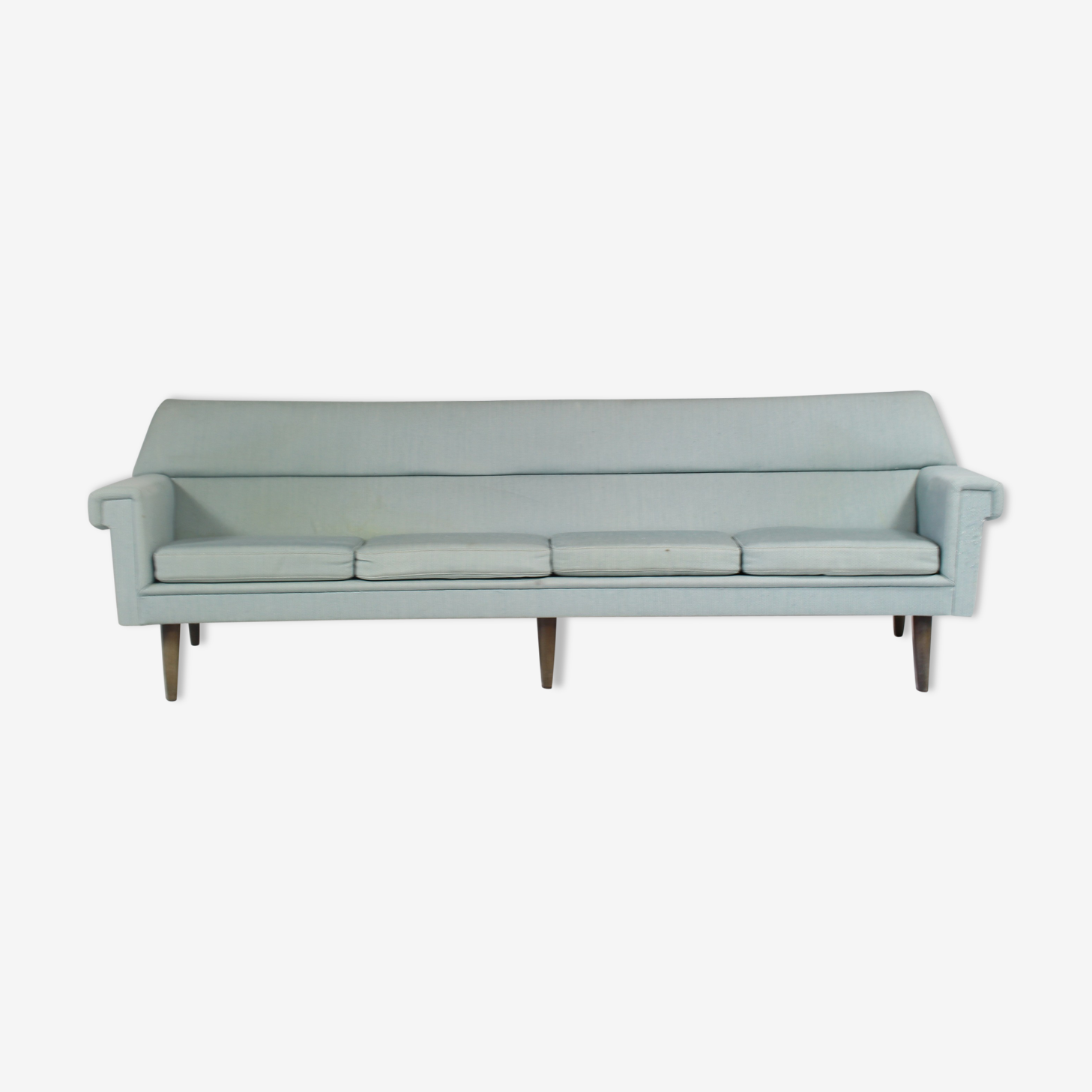 Vintage curved sofa by Kurt Ostervig, 1960 s