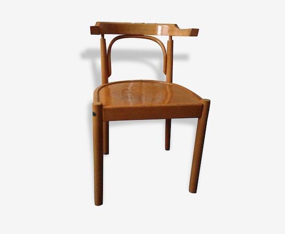 Tres Belle Chaise Bistrot Vintage Avec Accoudoirs