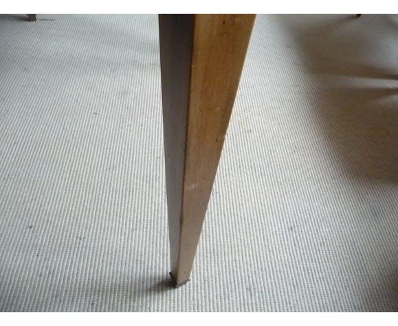 Table ronde avec bandeau avec 2 rallonges