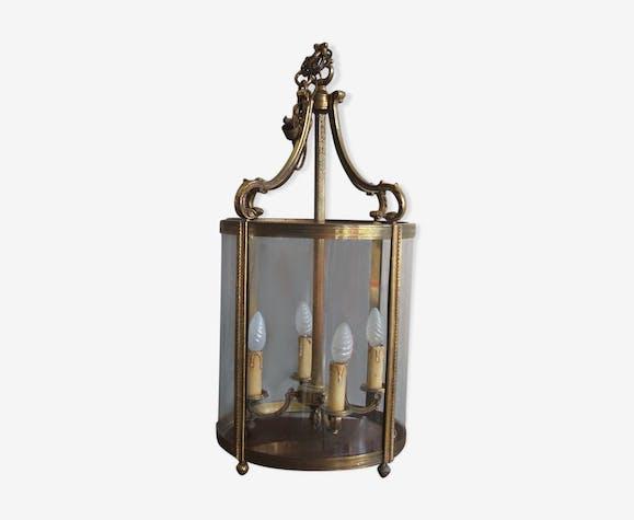 Lanterne en bronze style empire