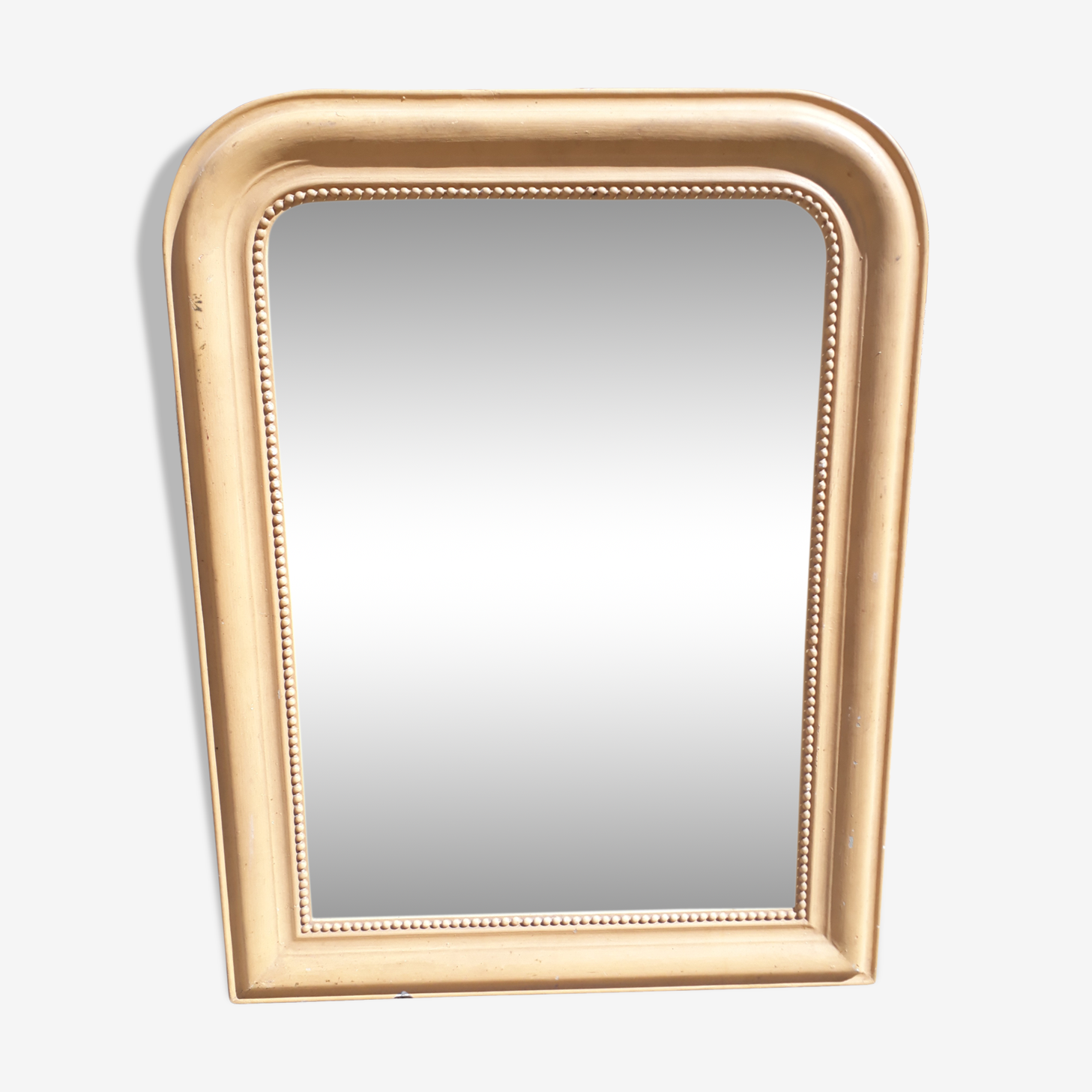 Miroir Louis Philippe, glace au mercure piquée par endroits 71x93cm