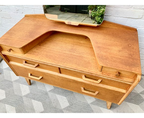 Vintage G Plan Dressing Table With Mirror #D158