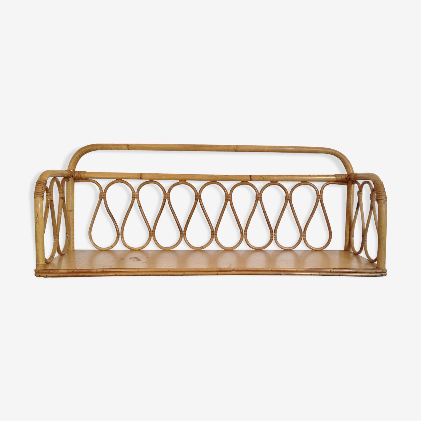 Shelf rattan