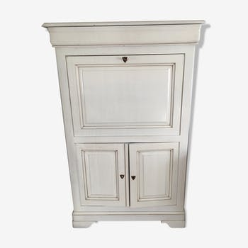 Secretary white buffet cream wooden, charming and functional