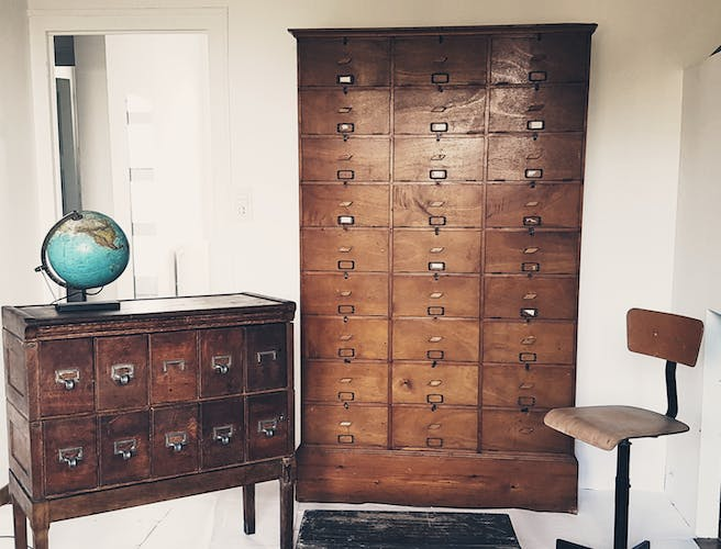 Notary furniture