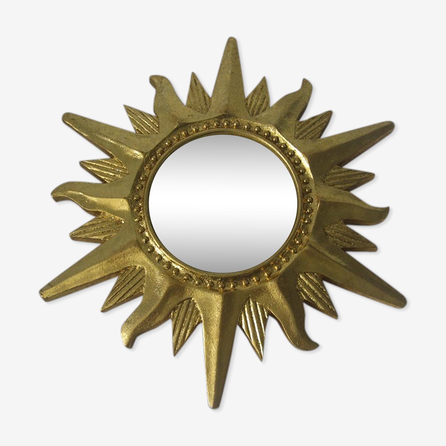 Miroir de sorcière soleil vintage 31 cm