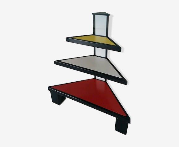 Bibliothèque étagère Design Designeur Memphis Sottsass De Lucchi