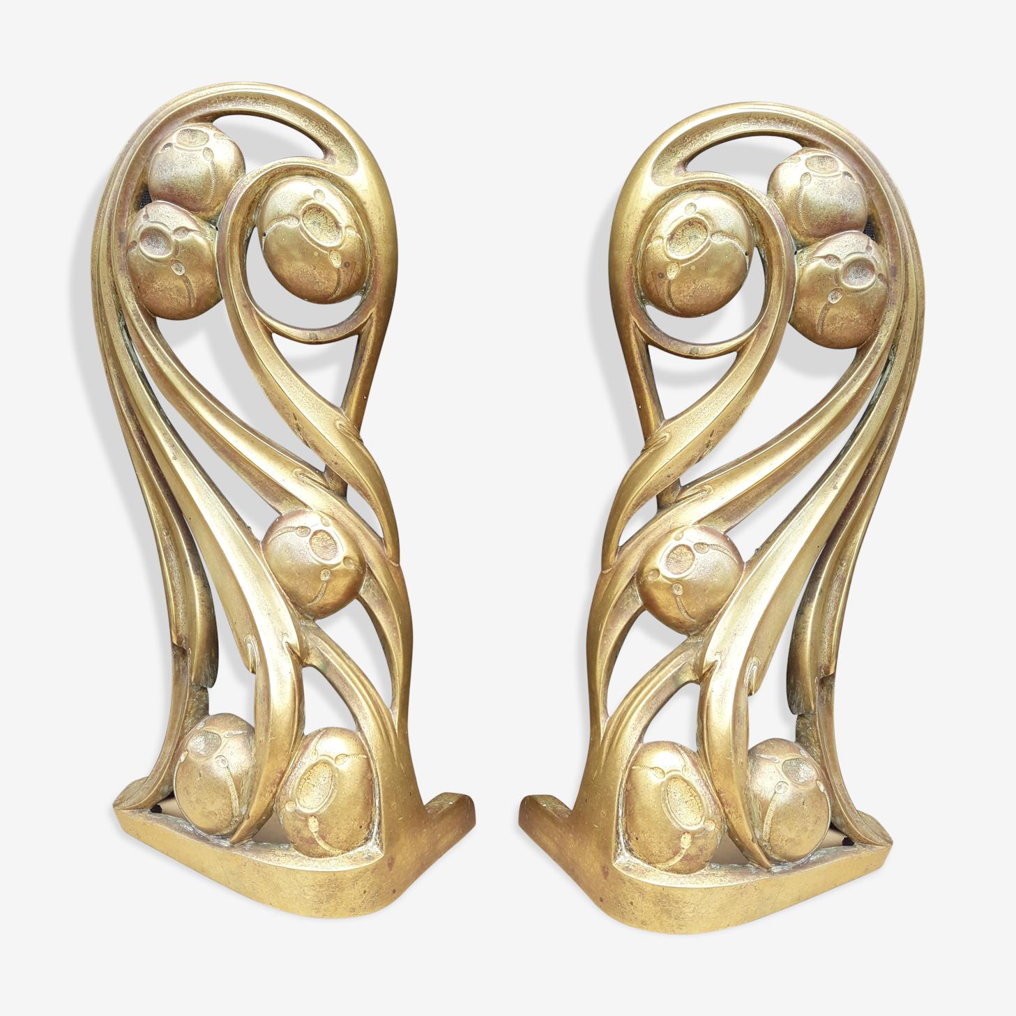 Paire de bronzes - Louis Majorelle - (1859 - 1926)