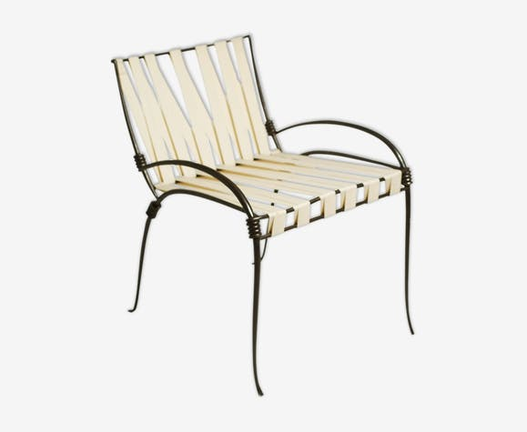 Ramsay House wrought iron chair