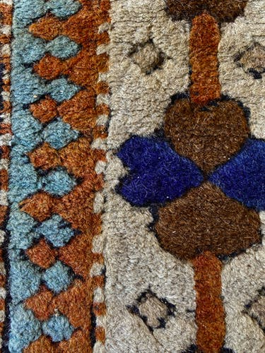 Tapis Kazar turque, pur laine fait main - 174cmx129cm