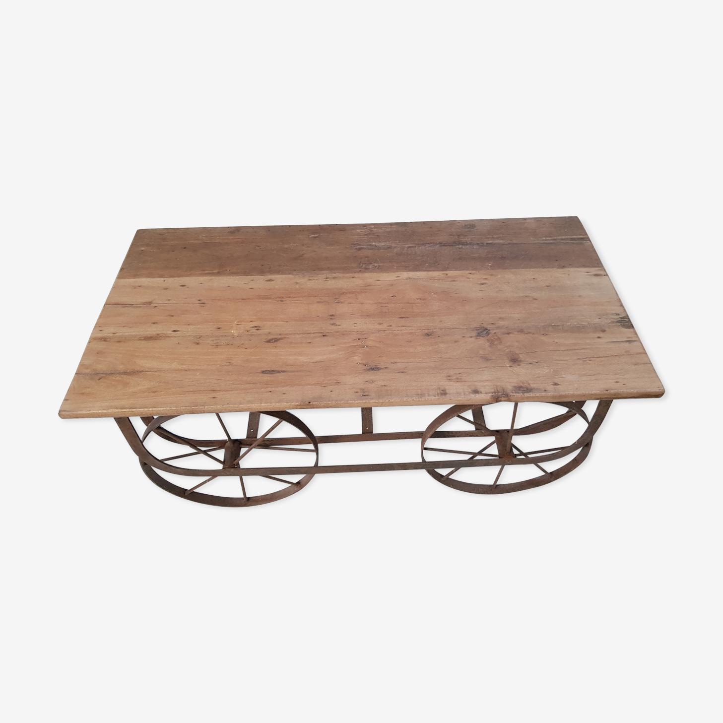 Indian merchant shop coffee table