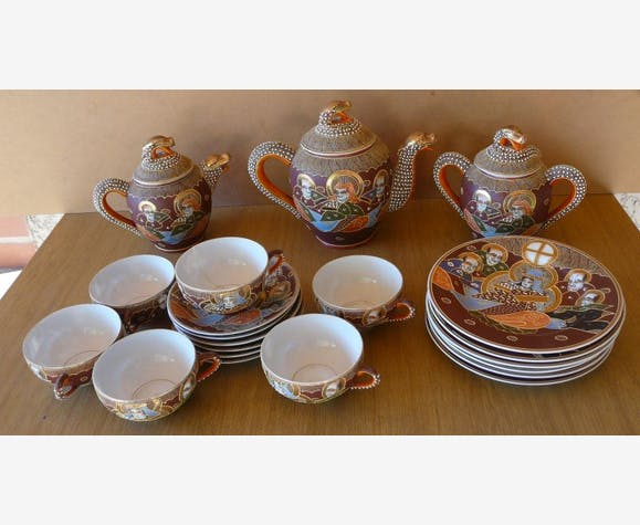 bas prix a8b3c 35b57 Service à thé chinois - céramique, porcelaine et faïence ...