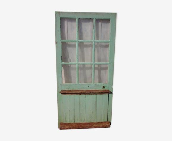 Porte vitrée ancienne