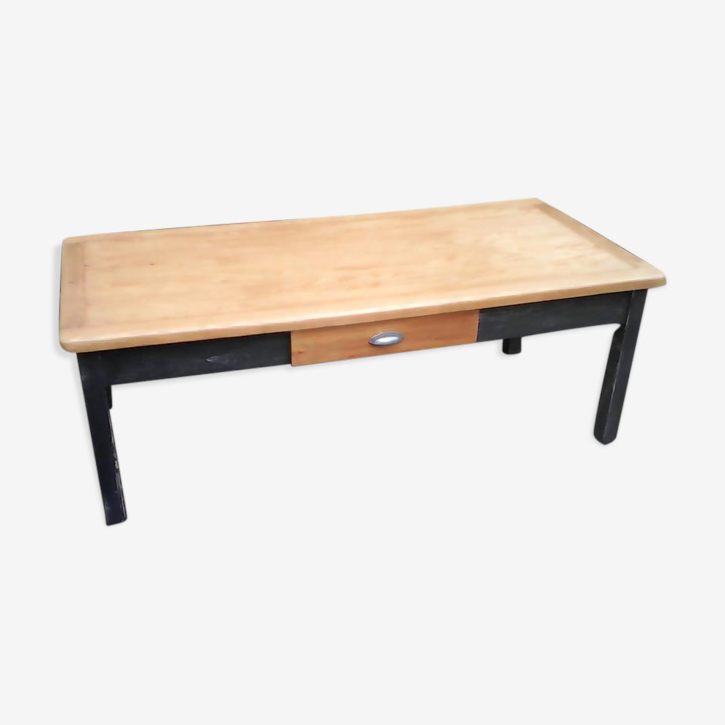Table de ferme basse