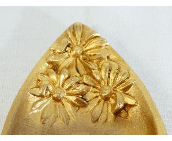 Ancien nécessaire de bureau art nouveau en bronze doré signé C. Charles
