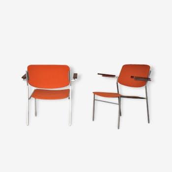 Martin Visser Lounge Chairs 8 x, Dutch Design 1960 s