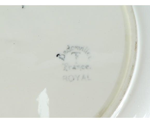 Plat creux rond Badonviller modele Royal