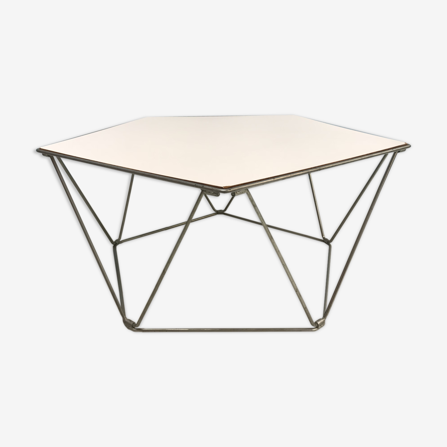 Penta coffee table by Kim Moltzer, Jean-Paul Barray  1968