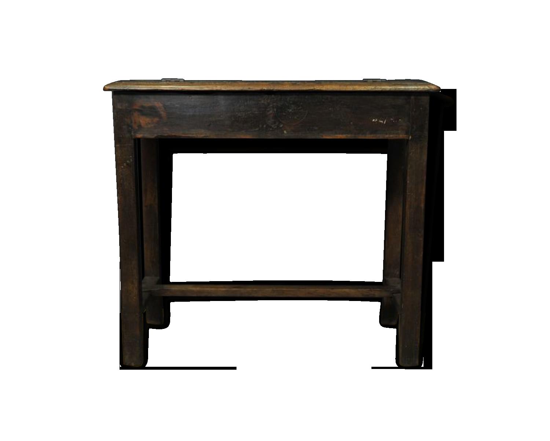 Bureau en bois foncé bois matériau classique