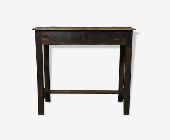 Bureau en bois foncé bois matériau classique 20343