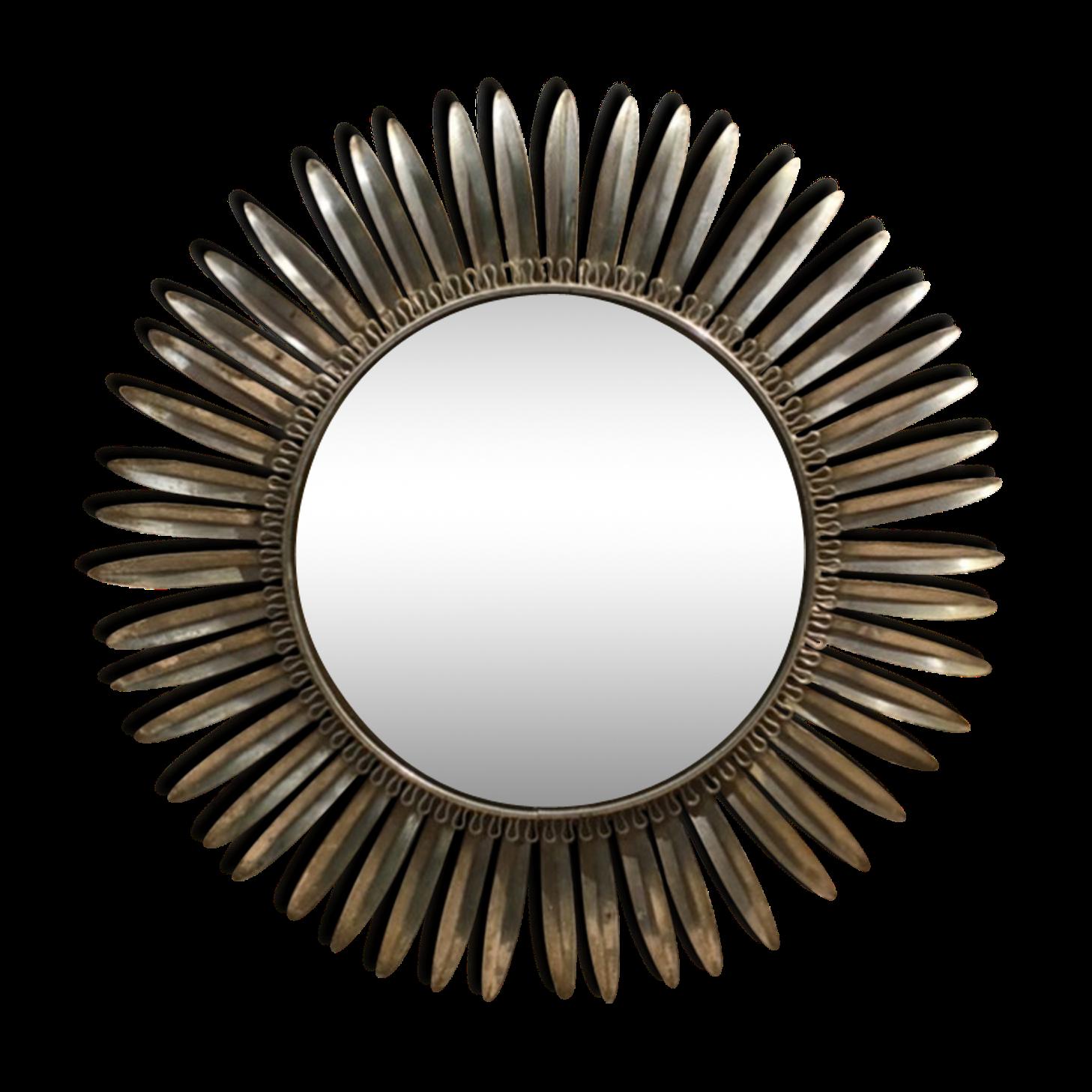 Miroir convexe en acier