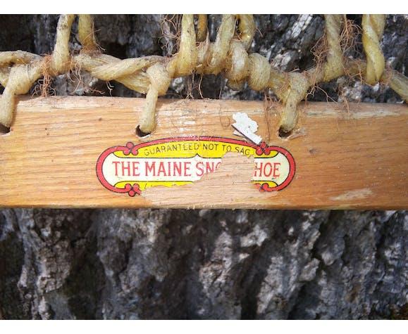 Raquette à neige bois