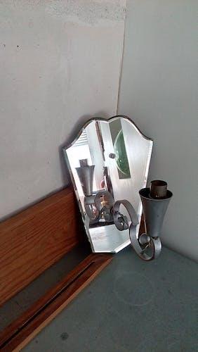 Applique miroir biseauté