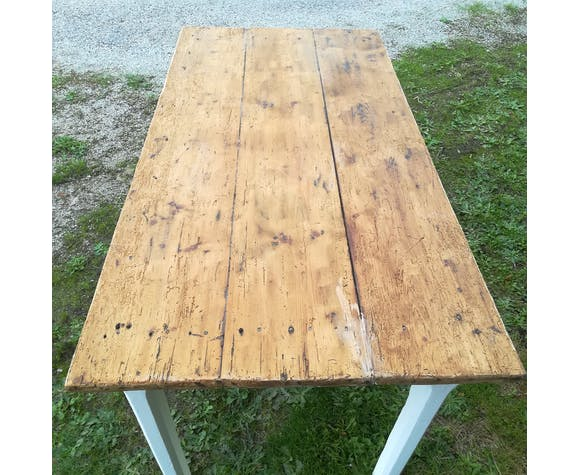 Old wooden table