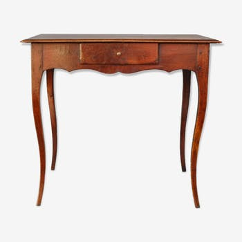 Table desk Louis XV of the period XVIIIth Walnut