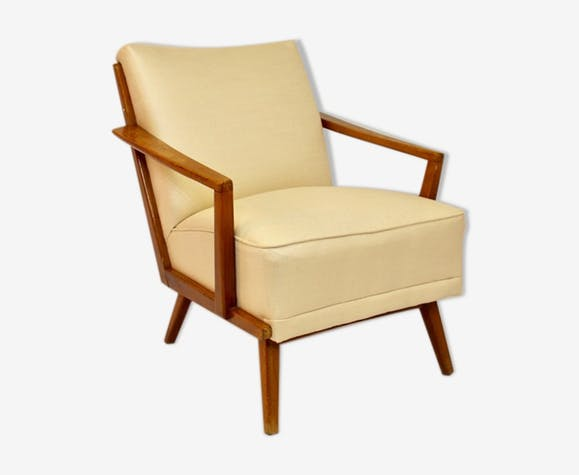 Fauteuil style scandinave 1960