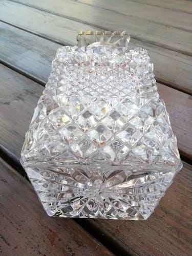 Carafe à wisky en cristal taillé
