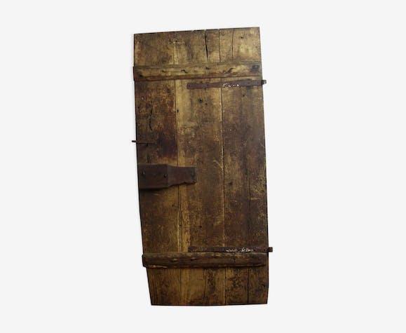 Porte en ch ne de cave bois mat riau bois couleur classique vkkw1ch - Porte de cave ...