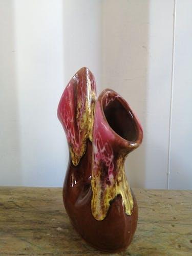Vase lave double pots vintage