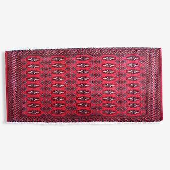 Turkmen Tekke done hand 54cm x 113cm 1970 vintage carpet - 1C207