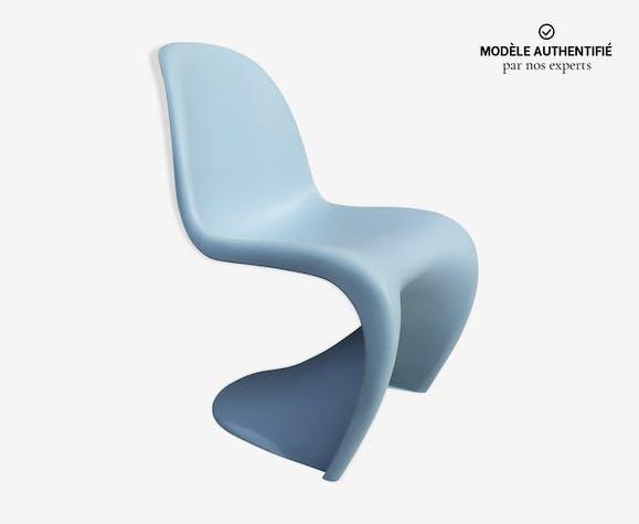 Panton chair bleue par Verner Panton pour Vitra