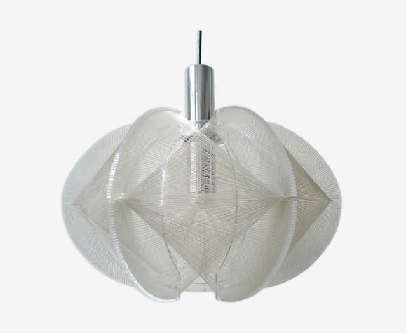 Paul Secon hanging lamp by Sompex 1960