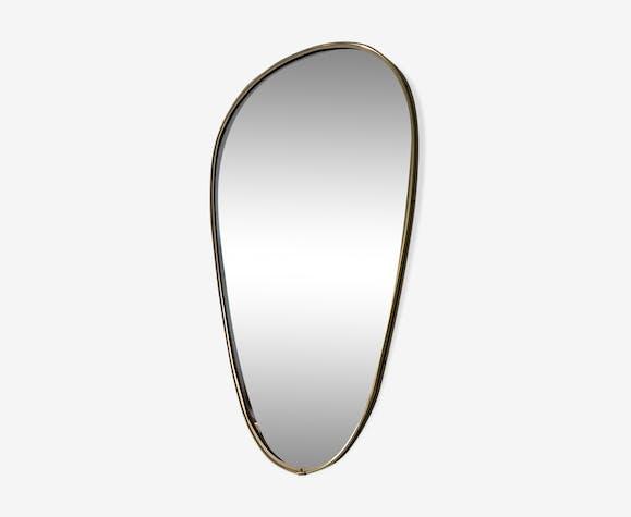Miroir rétroviseur 55x35cm vintage 1960
