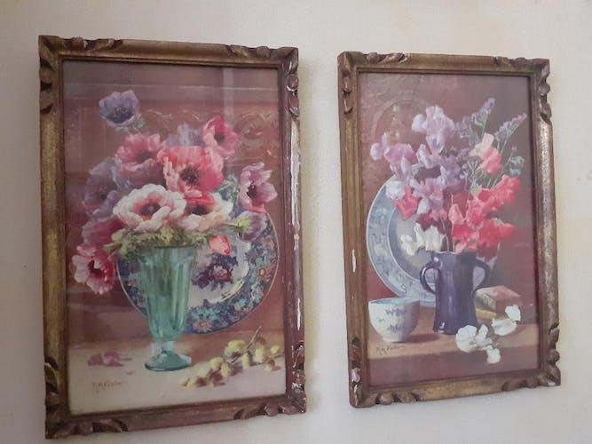 Lot de 2 tableaux