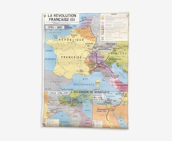 Carte Europe Vienne.Carte Scolaire De 1966 L Europe Apres Le Congres De Vienne