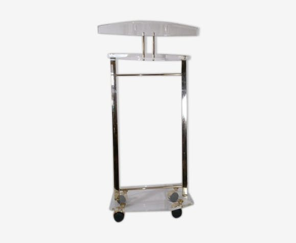 valet de chambre design 1980 plexiglas transparent. Black Bedroom Furniture Sets. Home Design Ideas