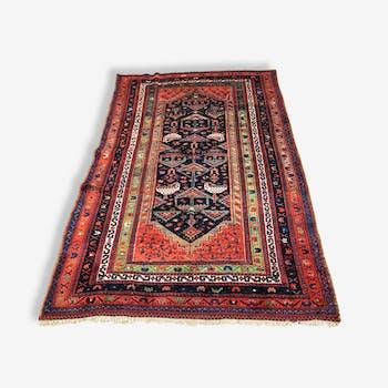 Amazing Persian hand made rug: Afshar 245 x 150 cm around 1930