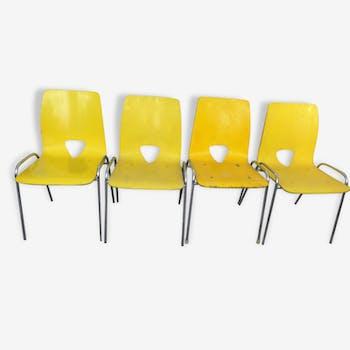 4 chaises bellmann