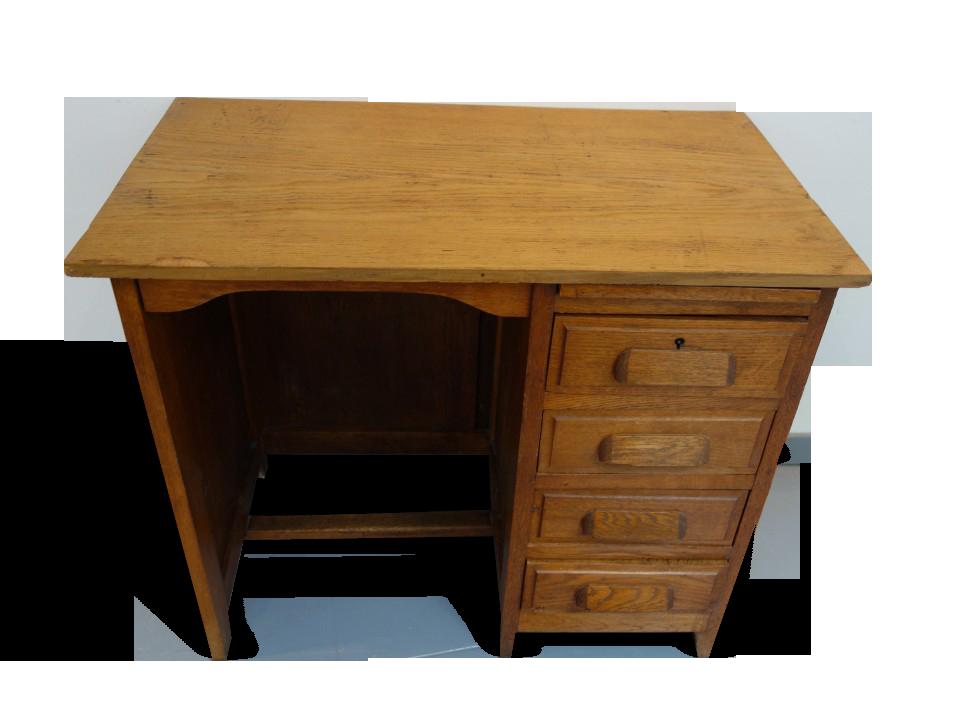 Bureau enfant vintage nouveau bureau relooké vintage en bois