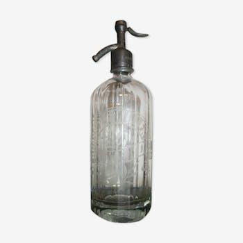 Siphon bouteille à eau de Seltz Brasserie Mende