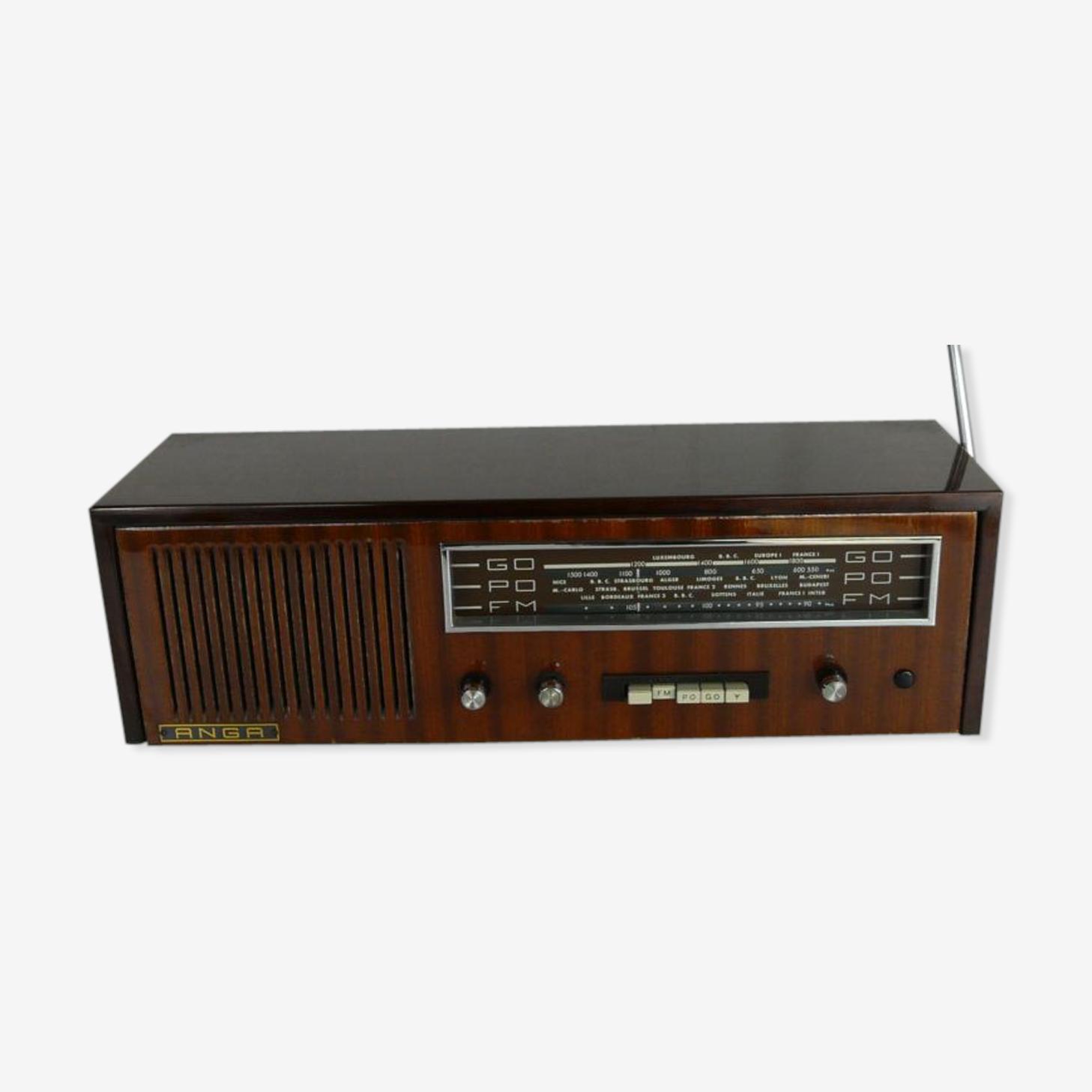 Poste radio Anga années 60 en formica