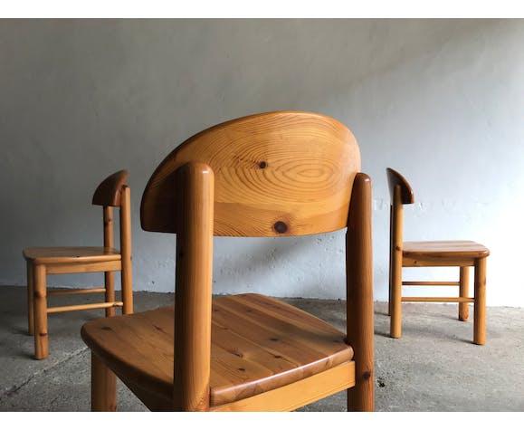 Ensemble de 4 chaises à manger Rainer Daumiller pour Hirtshals, années 1970