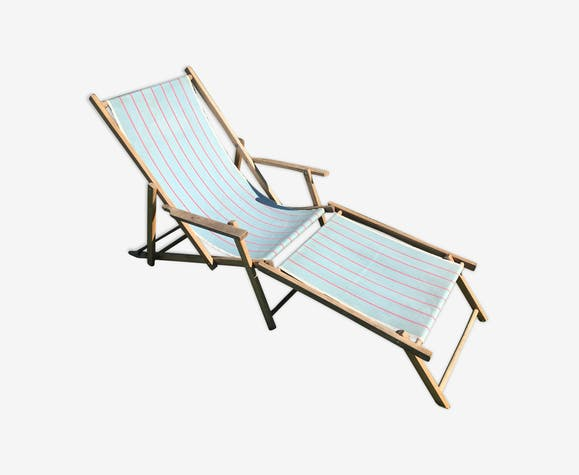 Chaise longue vintage chilienne