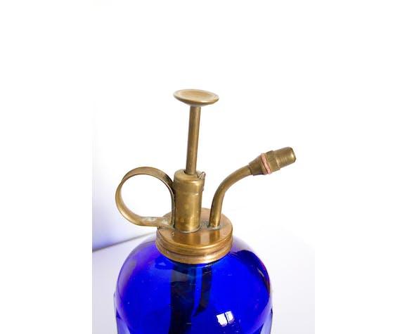 Vaporisateur en verre bleu